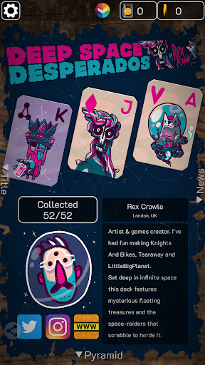 FLICK SOLITAIRE - FLICKING GREAT NEW CARD GAME android2mod screenshots 7