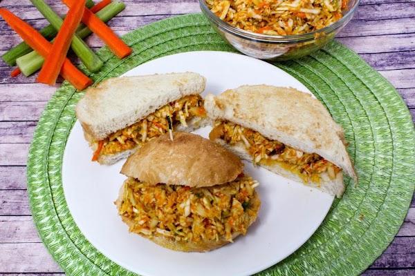 Asian Chicken Salad Sandwich Recipe