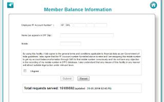 Screenshot of Employees Provident Fund - EPF