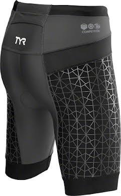 "TYR Competitor 8"" Women's Short: Black alternate image 4"