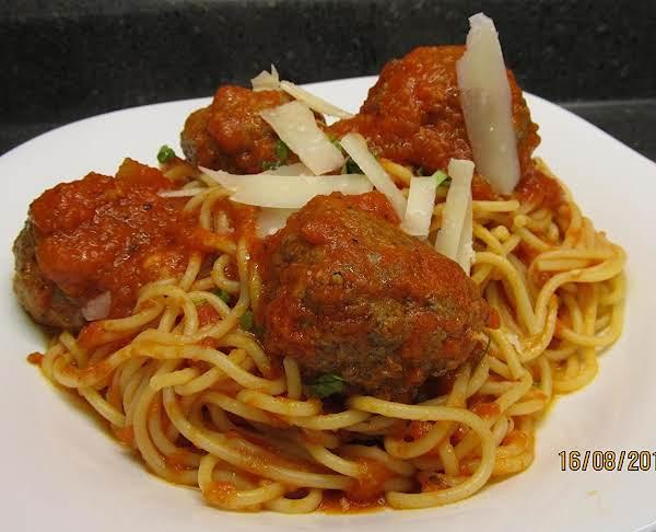 Favorite Spaghetti And Meatballs