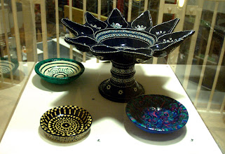Photo: some of Lottie's papier mache objet