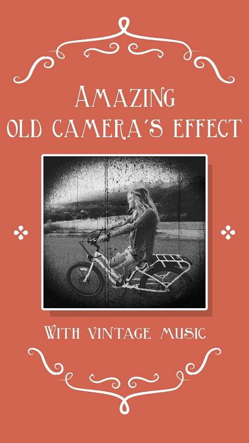 Silent movie camera, Kamarada- screenshot