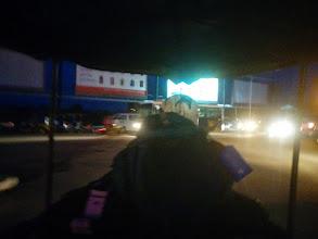 Photo: Airport pick-up via tuk tuk.