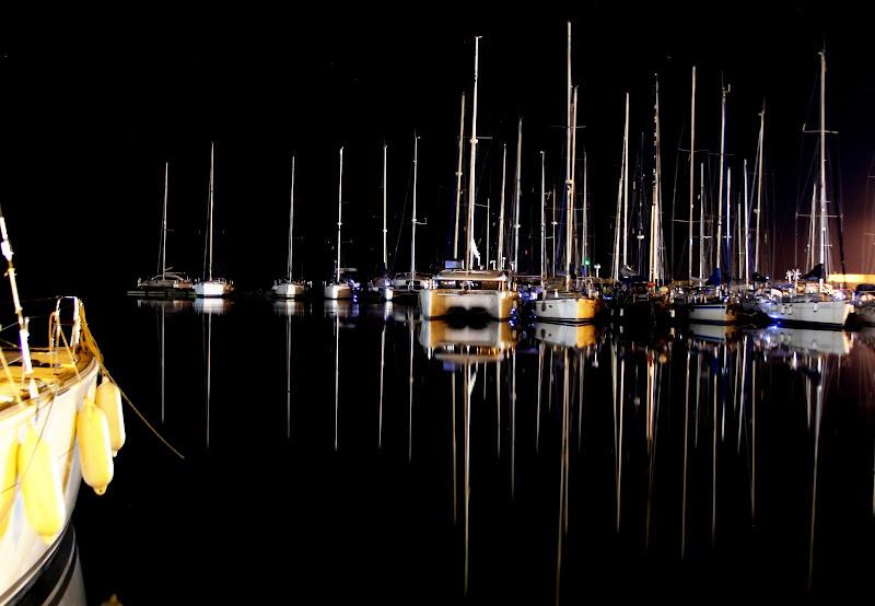 barche in porto di Gero