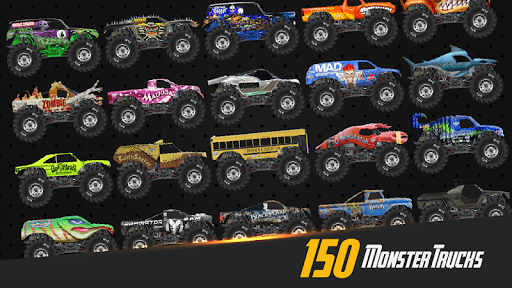 Monster Truck Crot: Monster truck racing car games  captures d'écran 1
