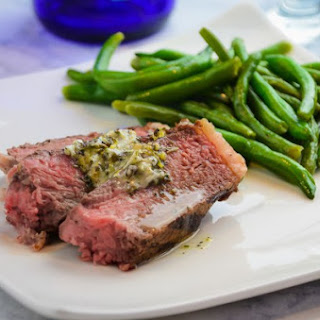 The Perfect Porterhouse Steak and Garlic Butter Sauce.