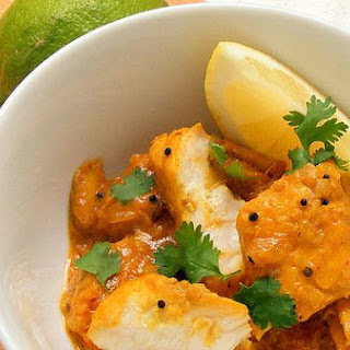 Linefish Simmered In A Spiced Coconut Gravy.