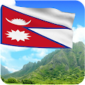 3D Nepal Flag Wallpaper icon