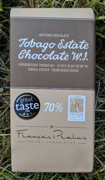 70% tobago estate pralus bar
