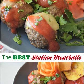 The BEST Italian Meatball Recipe