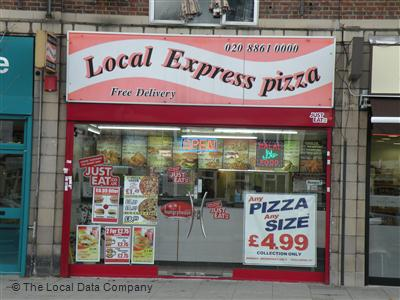 Local Express Pizza On Pinner Road Fast Food Takeaway In
