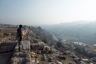 Photo: There were many good views over Amman from the Citadel
