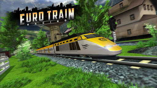 Euro Train Racing 3D screenshot 3