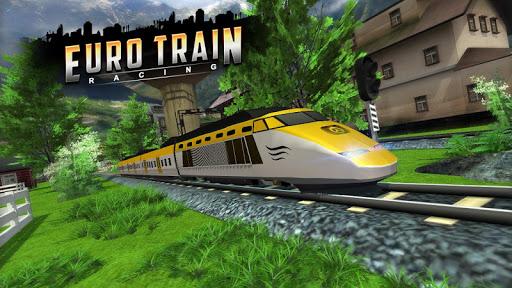 Euro Train Racing 3D screenshot 3