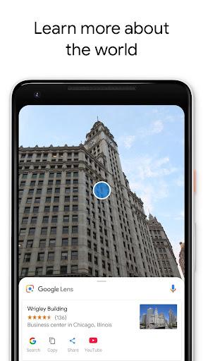 Google Lens 1.6.190430009 screenshots 2