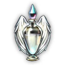 輝く霊魂石の浄化水