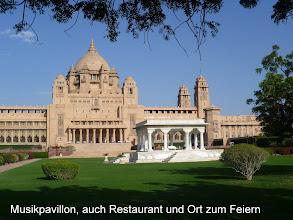 Photo: DerUmaid Bhawan Palast ist einer der größten Paläste Indiens und in allen Bereichen hervorragend erhalten.