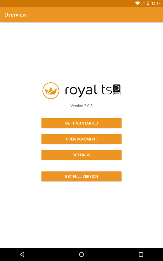 Royal TSD Lite- screenshot