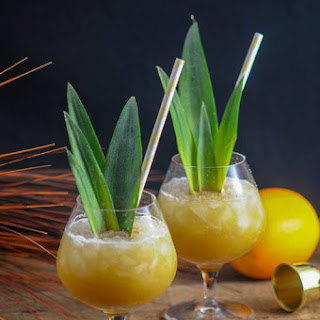 Coconut Rum Painkiller - a Rum Cocktail Recipe