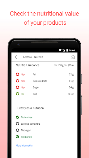 CodeCheck: Food & Cosmetic Product Scanner 5.4.6 screenshots 4