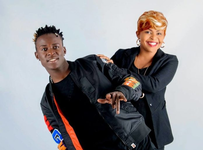 Willy Paul with Size 8