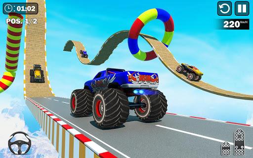 Insane GT Stunts : Mega Ramp Games screenshots 8