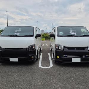 ハイエース TRH200V SUPER GL 2018年式のカスタム事例画像 keiji@黒バンパー愛好会さんの2020年10月05日21:41の投稿