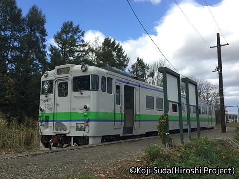JR北海道 キハ40-825 新十津川駅にて_02