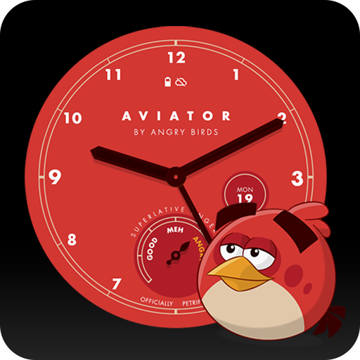 Angry Birds Aviator Watch Face Icon
