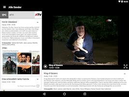 Screenshot of 3MobileTV