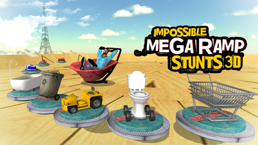Impossible Mega Ramp Stunts 3D android2mod screenshots 4