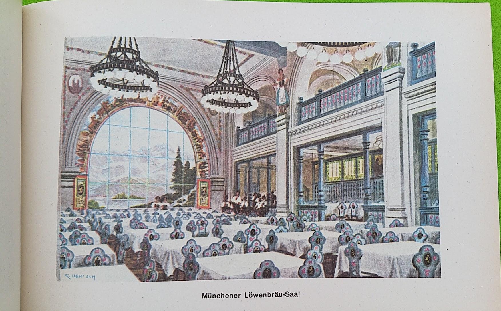 Begleitheft zur Eröffnung von Haus Vaterland am Potsdamer Platz, Berlin, 31. August 1928 - Münchener Löwenbräu-Saal