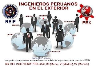 Photo: En el marco de la Celebración del DÍA DEL INGENIERO PERUANO, que se celebran por el día 08 y en el que nuestro Colegio de Ingenieros del Perú cumple su 52º Aniversario , en Madrid y en otras ciudades de Europa igualmente estuvimos compartiendo un Encuentro Profesional, en el caso de Madrid nos unimos y lo compartimos en el anual Congreso Europeo de COmunidades Peruanas en el EXterior - CECOPEX- que se realizó este 20,21,22 de Junio en Leganes, Madrid.