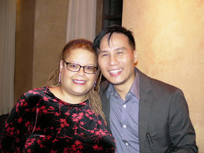 Photo: Law & Order SVU's (my fave show), B.D. Wong, presented the Courage Awards in 2010.