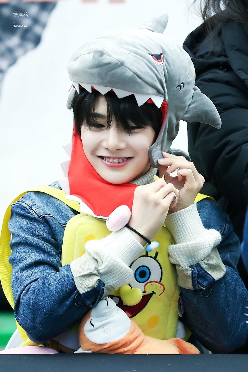 15 stray kids jeongin in