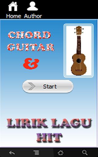Chord Gitar dan Lirik Lagu Hit