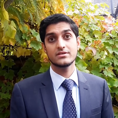 Student Dr. Javed Khokhar Gives His Testimonial