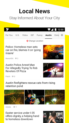 TopBuzz: Trending Videos, Funny GIFs, Top News &TV - screenshot
