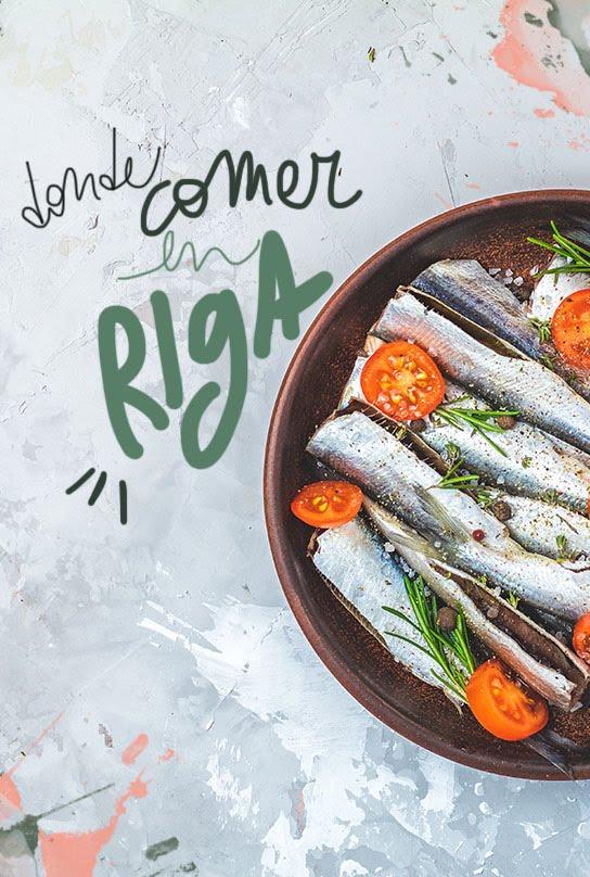 restaurantes donde comer en Riga