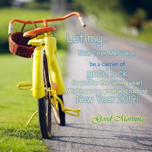 Happy New Year 2019 Good Morning Greeting Google Play म