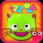 Juegos educativos de niños -Preschool EduKitty icon