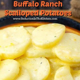 Moore's Marinades Buffalo Ranch Scalloped Potatoes