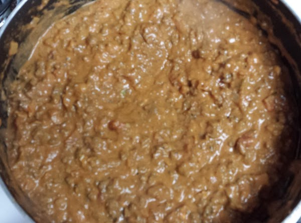 Add, Cream Cheese, Taco Seasoning and Chunky Salsa. Simmer for 5 minutes.
