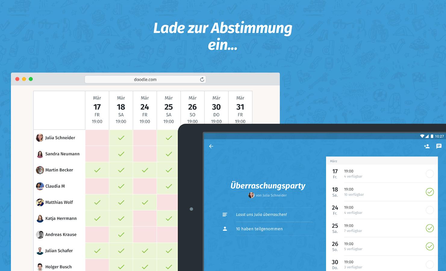 Grenzsteine Finden App : doodle termin finden android apps auf google play ~ Lizthompson.info Haus und Dekorationen