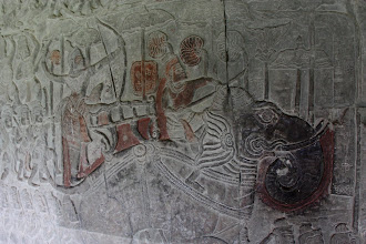 Photo: Year 2 Day 44 -  Elephant Wall Relief