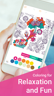 Free Coloring Book for Adults: ColorColor 2017 - náhled