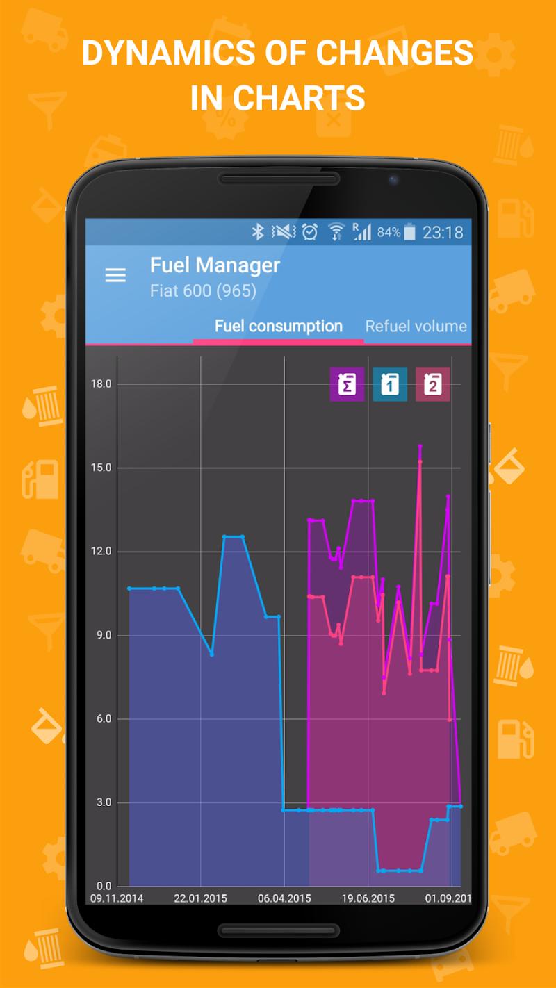 Fuel Manager Pro (Consumption) Screenshot 3