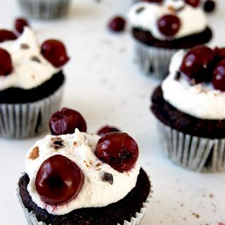 Black Forest Cupcakes (Gluten-free, Grain-free, Dairy-free).