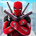 Superhero Ninja Battle: Streets Fighting Robot icon